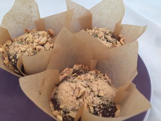 Paleo Chocolate Cherry Hazelnut Muffins