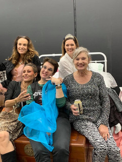 Cast and Director, _Five Women Wearing t