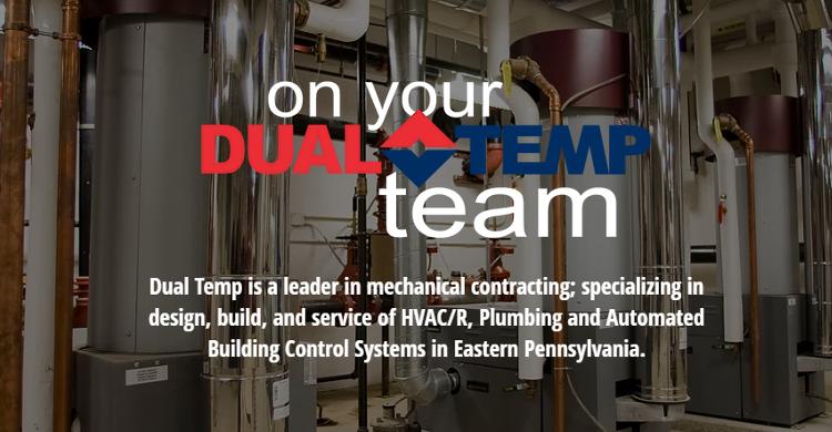 Heating Allentown Dual Temp Company Inc