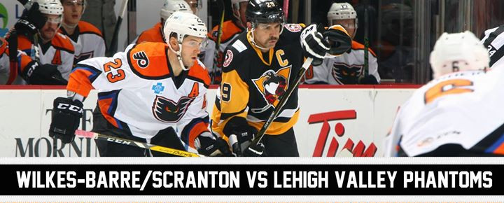 Scranton vs. Phantoms