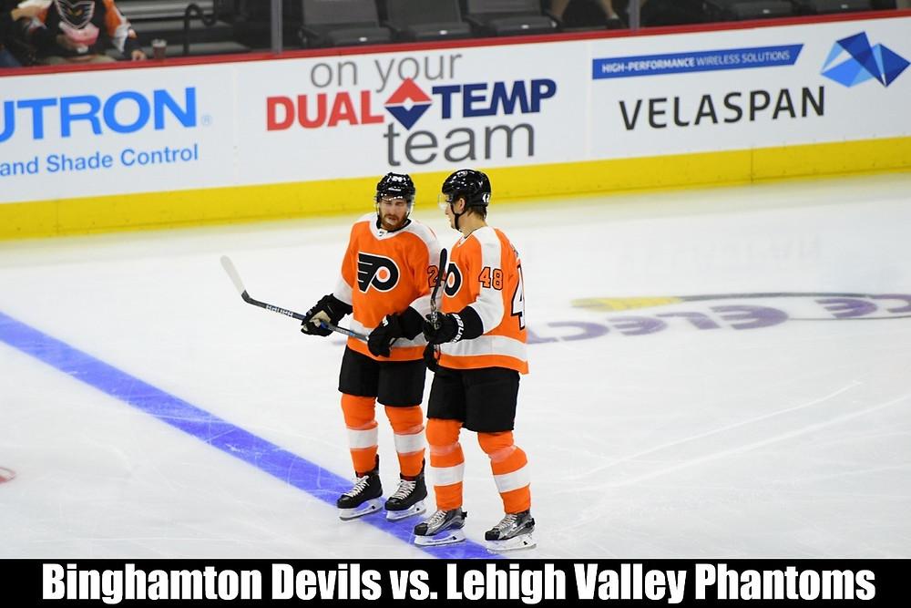 Scranton vs. Phantoms