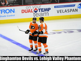 Wed, April 8, 2020, Phantoms vs. Binghamton Devils @ 7:05pm – BIDS DUE BY 04/06 @ 12pm