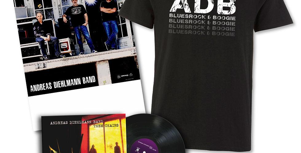 Andreas Diehlmann Band - Them Chains - Fan Edition Vinyl