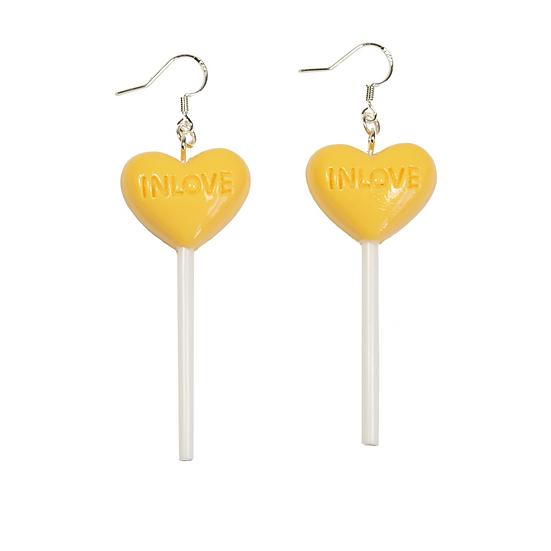 Heart Love Candy Earrings