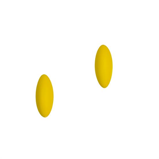 Fruity Colorful Ovel Shape Stud Earrings