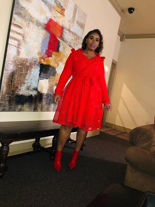 Red Mesh Jacket