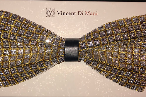 Bling Bow Tie Gold