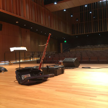Solo Concert Scene at Chico State
