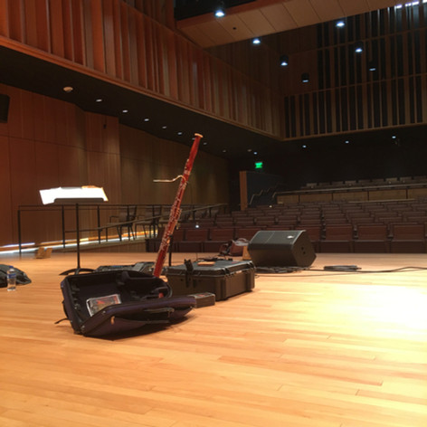 Solo Concert Scene at Chico State