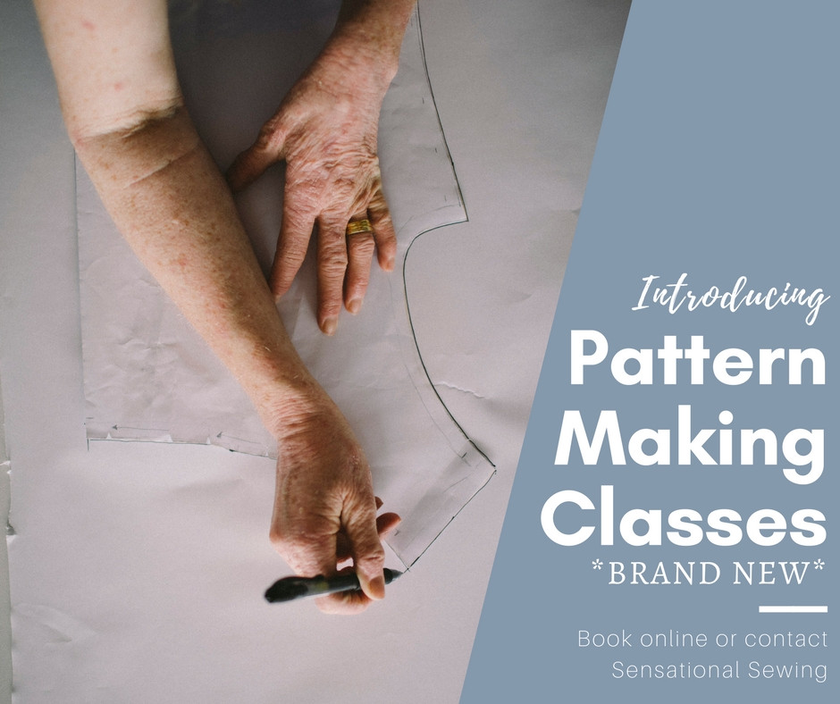 Book into our Pattern-Making Classes