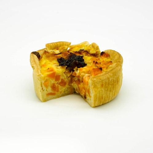 Sweet Potato & Carmelised Onion Quiche