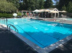 Lrg heated pool