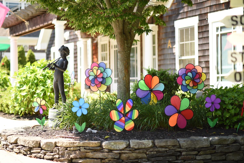 The SFAH windmill flower garden