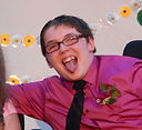Camp advisory committee member named Christopher smiles