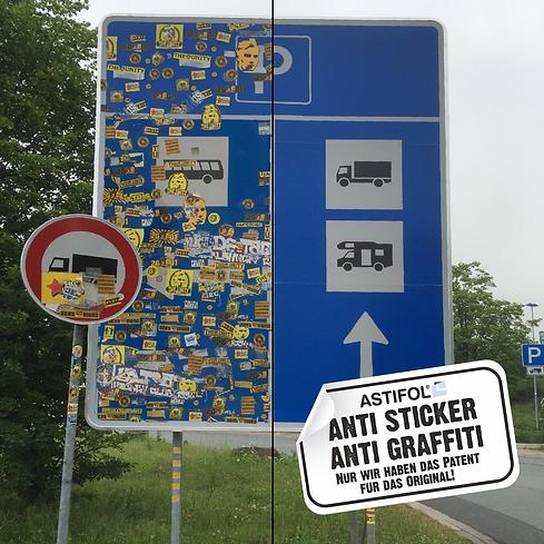 ASTIFOL® Anti-Sticker
