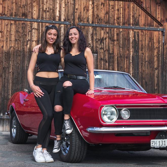 Jessi und Sarina