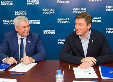Владимир Мякуш выразил благодарность Андрею Турчаку
