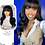 """Thumbnail: """"Courtney"""" Silky Straight Lace w/ Bangs (Indian Hair) LW102"""