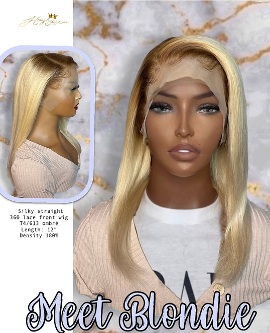 """Blondie"" 360 Lace Frontal OMBRE Wig (BW850)"