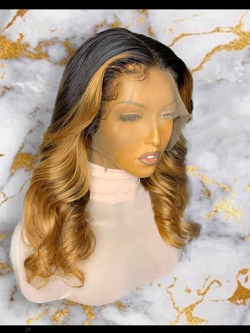 """Kylie"" 360 Lace Frontal OMBRE Wig (BW108)"