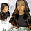 "Thumbnail: ""Holly"" Pre-plucked 360 OMBRE Lace Frontal Wig (BW109)"