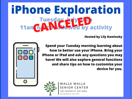 CANCELED: iPhone Exploration Lunch Bunch Group