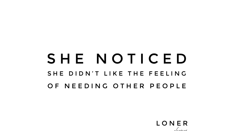 Loner | glls | Print