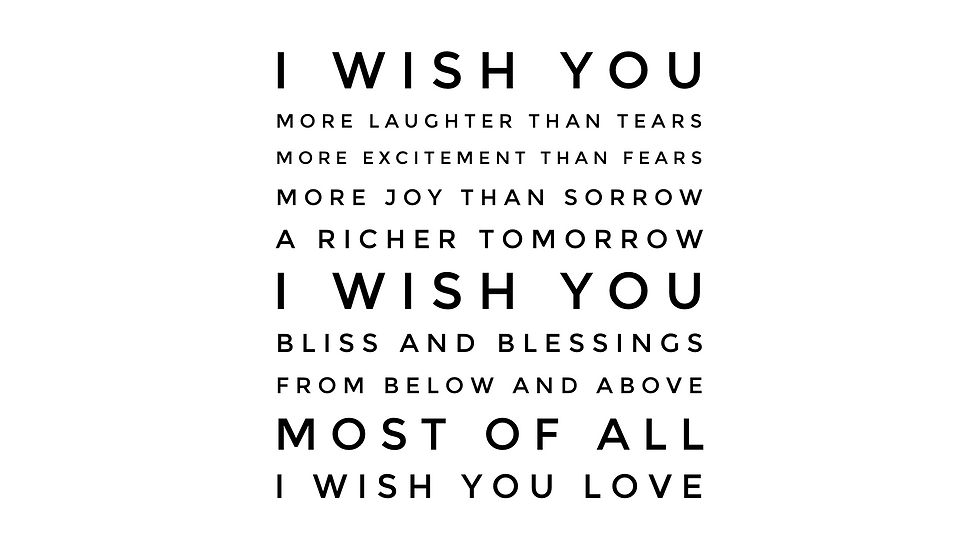 Wishes | glls | Print