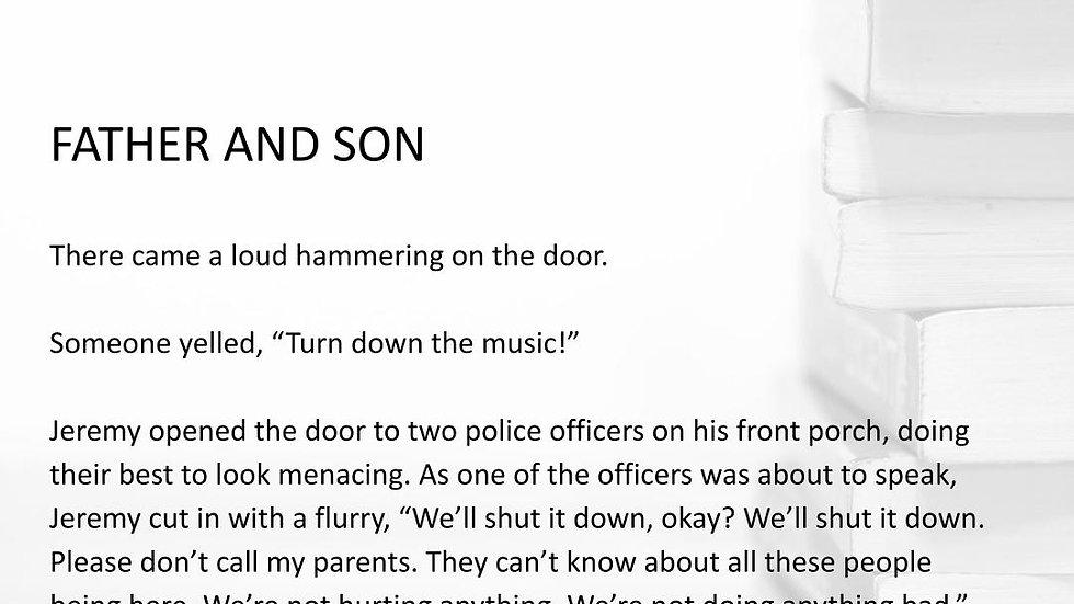 FATHER AND SON | #250WordThursday | PRINT SET