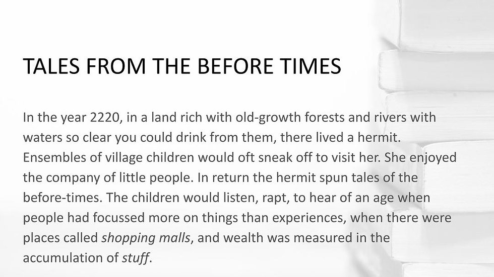 TALES FROM THE BEFORE TIMES | #250WordThursday | PRINT SET