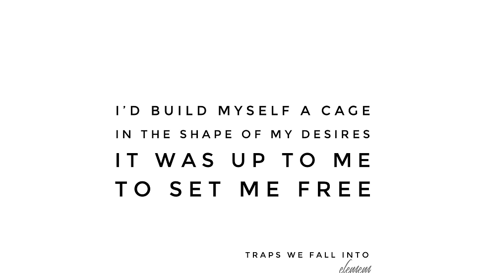 Traps We Fall Into | glls | Print