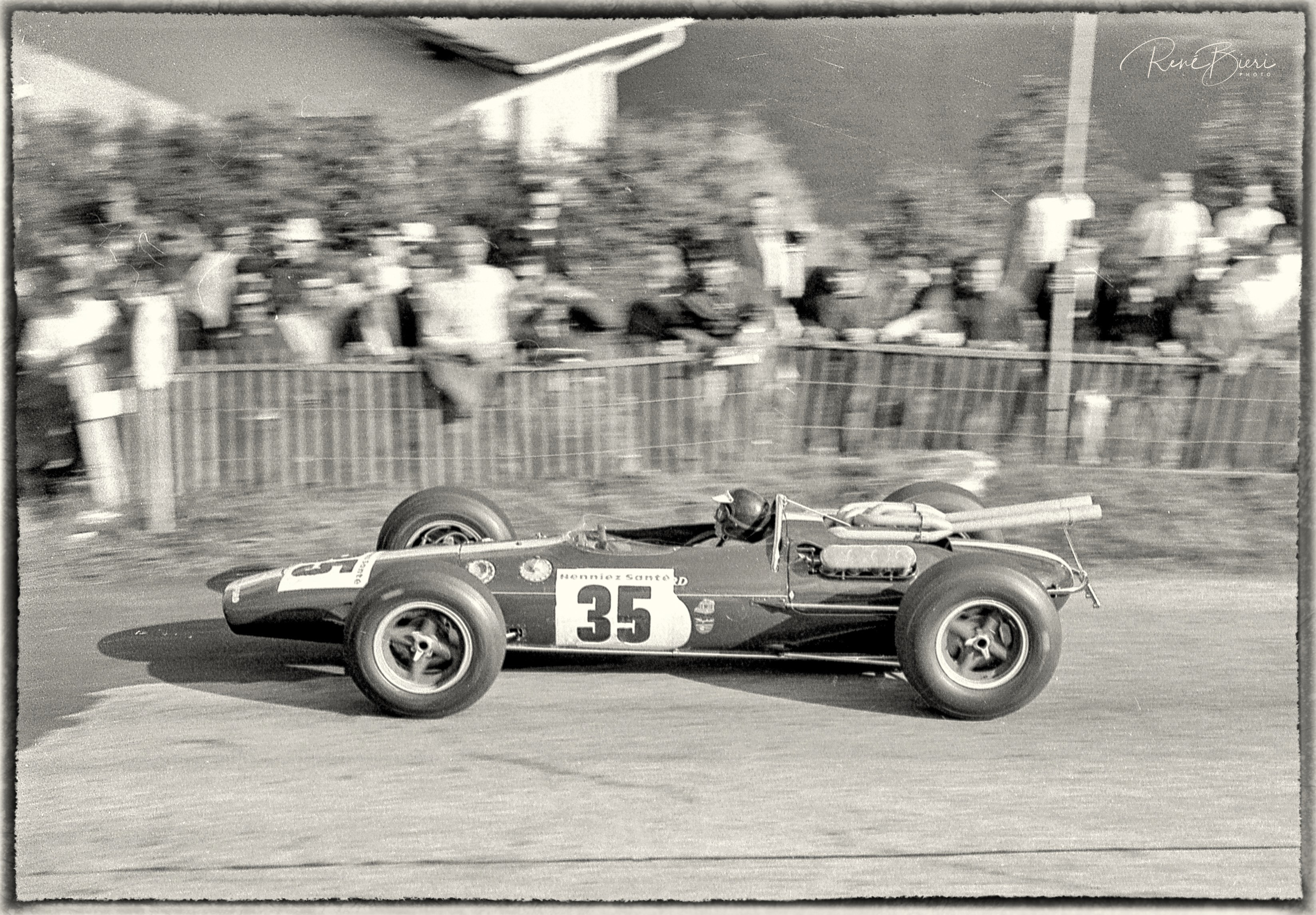Jim Clark auf Lotus-Ford Indi