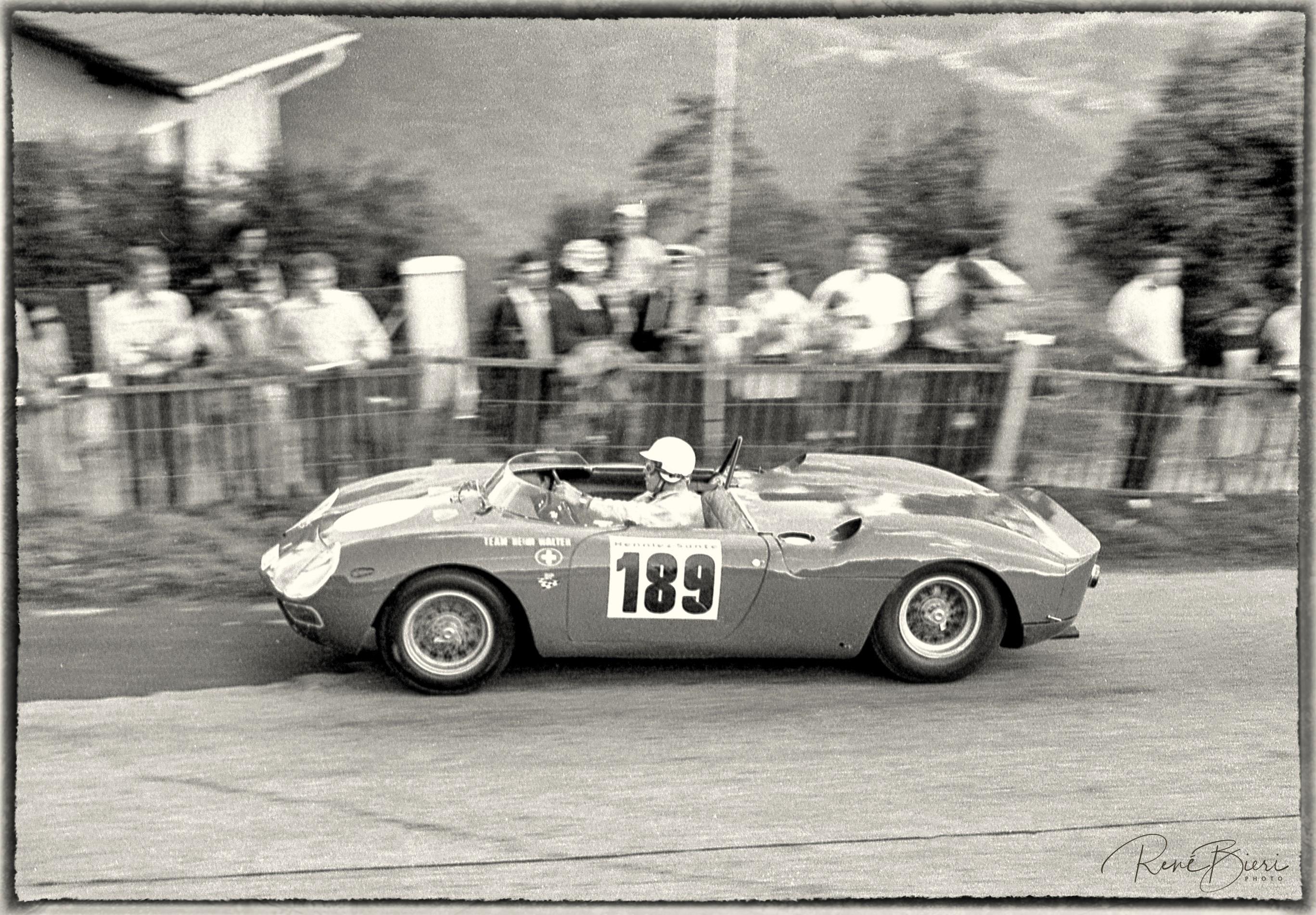 Heini Walter auf Ferrari 250 LM
