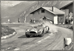 Bob Bondurant auf Shelby Cobra GT
