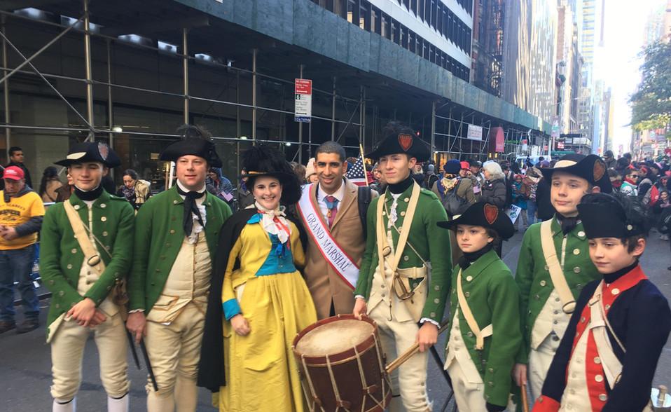 Veteran's Day PArade NYC 2018