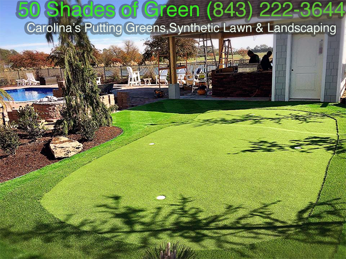 Synthetic Lawn, Putting Green