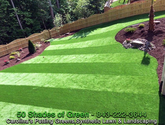 Synthetic Lawn - AFTER