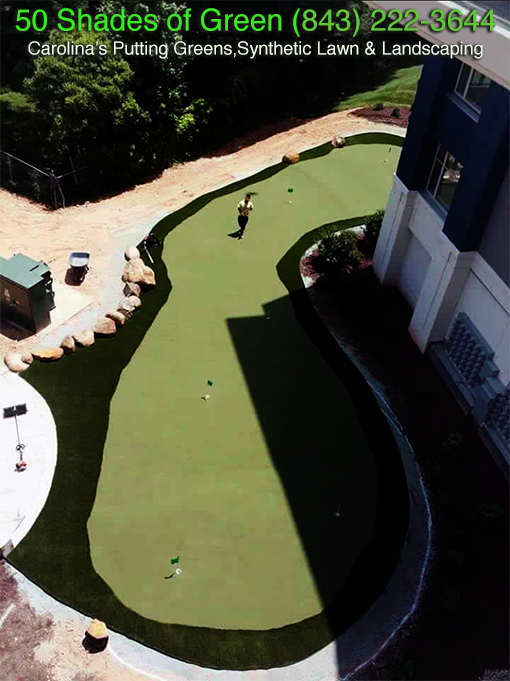 Commercial Putting Green