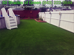 Swimming Pool Turf, Synthetic Lawn