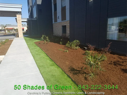 Commercial Synthetic Lawn