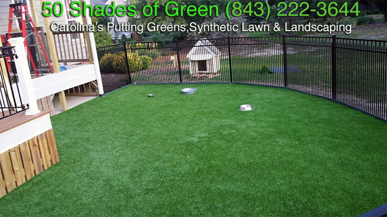 Residential Dog Yard - AFTER