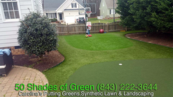 Child's Putting Green
