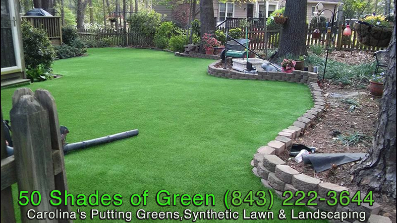 Synthetic Lawn & Landscape Project