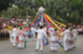 Dancers in Merida