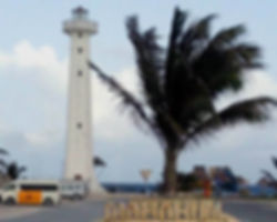 Light house in Mahahual, Mexico close to Beaches-r-us lots