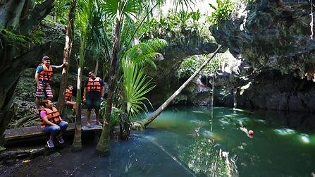 Cenotes on Cozumel