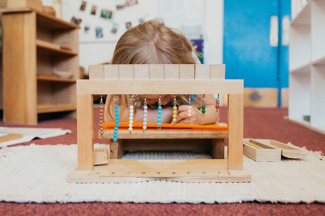 Montessori Math Lesson
