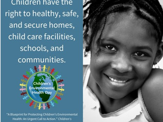 Marin Child Care Council Supports Children Environmental Health Day on October 11th!