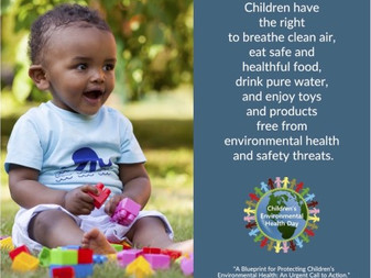 October 11th is Children Environmental Health Day