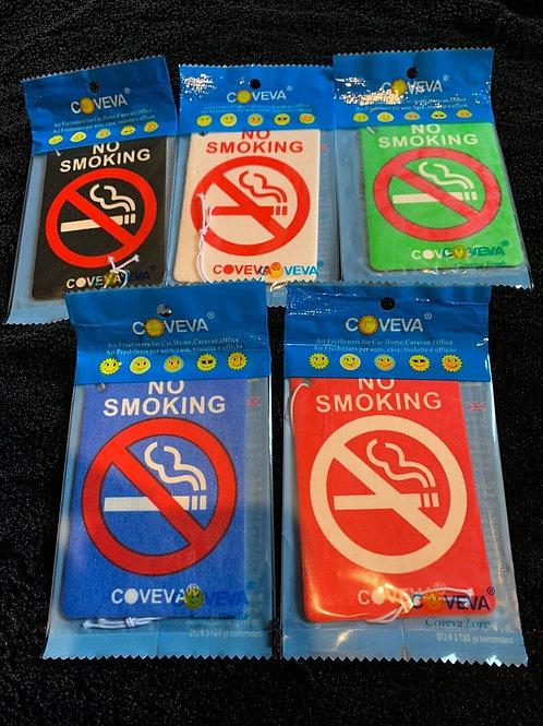 NO SMOKING Hanging Car Air freshener
